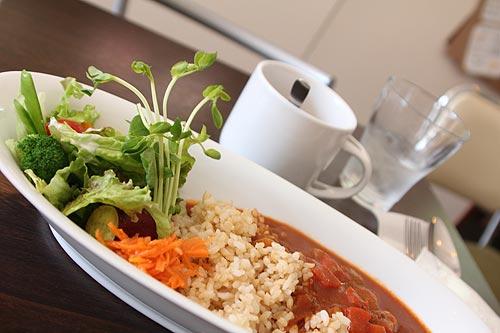 玄米ごはんの特製ハヤシライス
