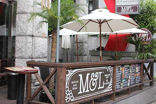 M&L AlohaTable(エム アンド エル アロハテーブル):テラス席